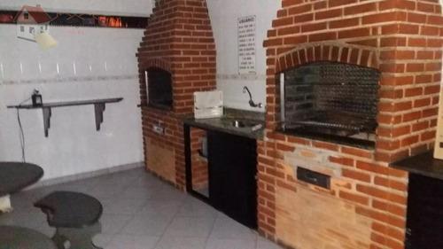apartamento com 1 dormitório para alugar, 54 m² por r$ 1.300/mês - cidade ocian - praia grande/sp - ap0338