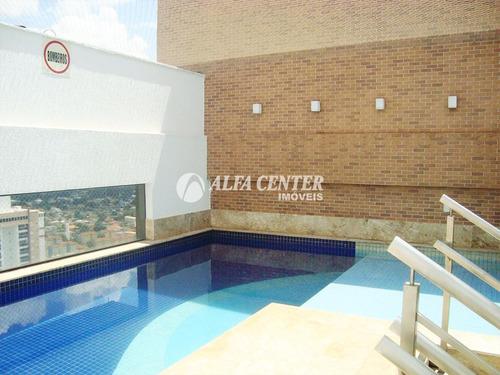 apartamento com 1 dormitório para alugar por r$ 1.400/mês - alto da glória - goiânia/go - ap1252