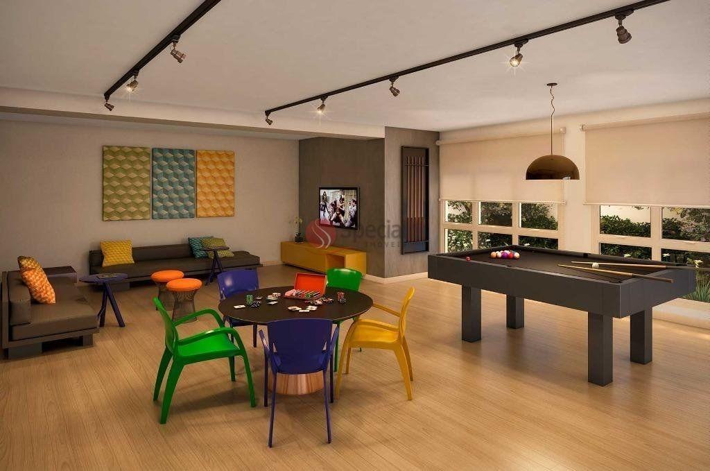 apartamento com 1 dormitório à venda, 24 m²  - tatuapé - são paulo/sp - af19781