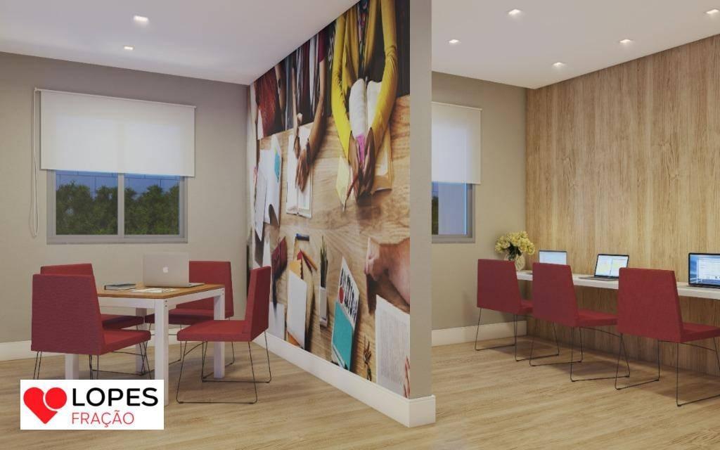 apartamento com 1 dormitório à venda, 30 m² por r$ 159.000 - mooca - são paulo/sp - ap2631