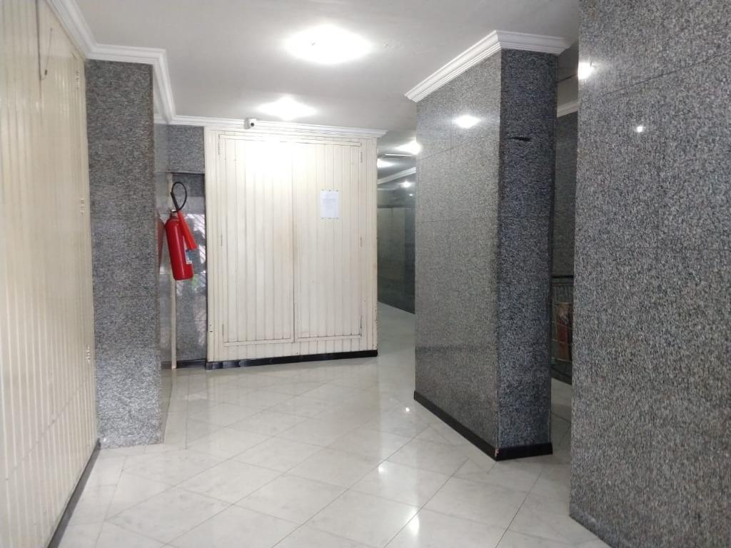 apartamento com 1 dormitório à venda, 30 m² por r$ 215.000 - centro - guarulhos/sp - ap4851