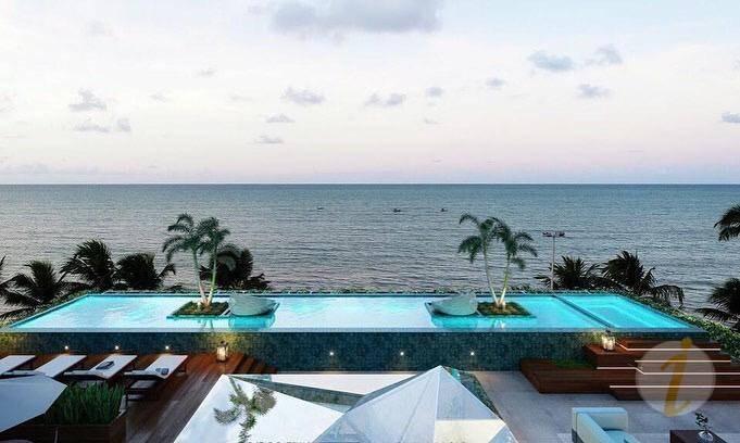 apartamento com 1 dormitório à venda, 31 m² por r$ 312.287 - cabo branco - joão pessoa/pb - ap6771
