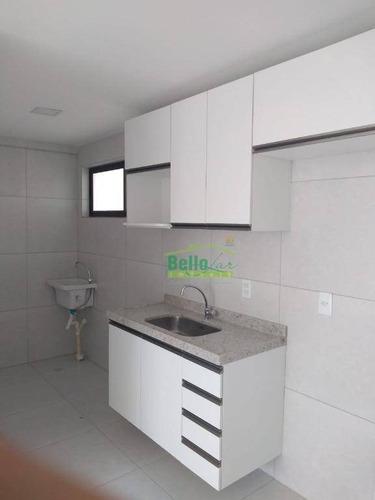 apartamento com 1 dormitório à venda, 33 m² por r$ 250.000 - aflitos - recife/pe - ap1348