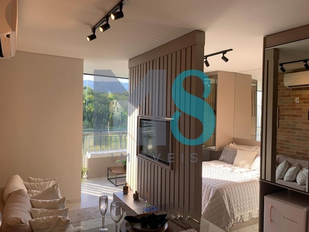 apartamento com 1 dormitório à venda, 35 m² por r$ 204.900 - centro - mogi das cruzes/sp - ap0176