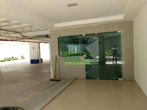 apartamento com 1 dormitório à venda, 35 m² por r$ 250.000,00 - boa vista - recife/pe - ap0768
