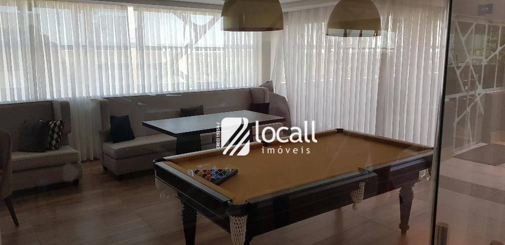 apartamento com 1 dormitório à venda, 35 m² por r$ 255.000 - jardim panorama - são josé do rio preto/sp - ap1806