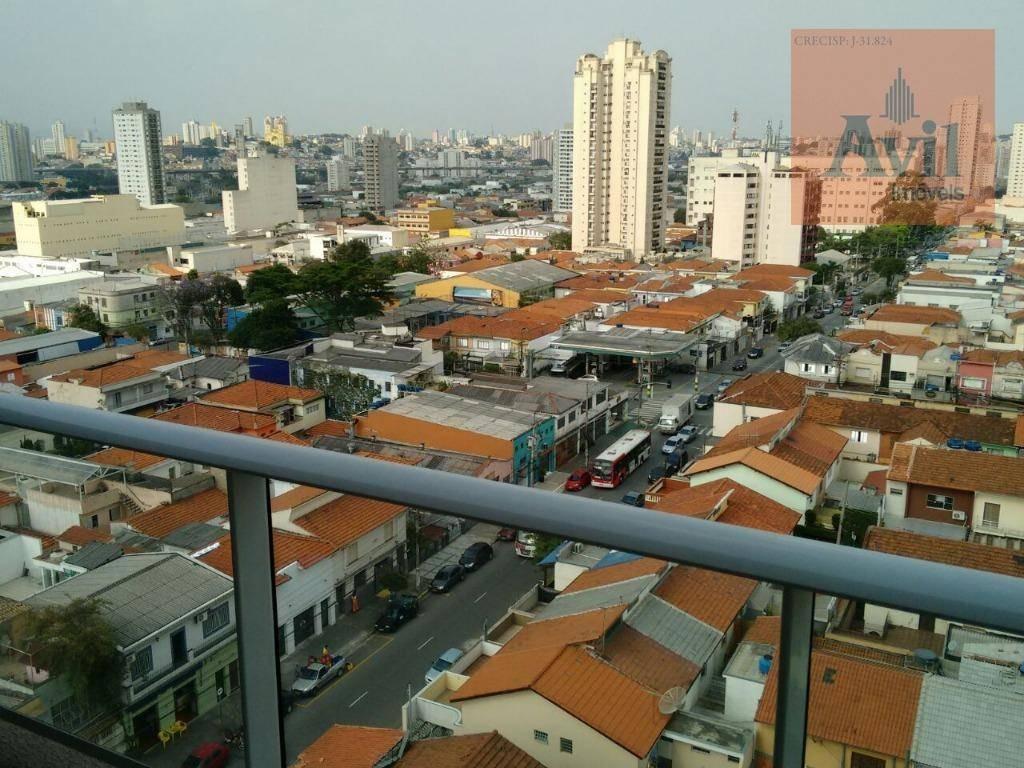 apartamento com 1 dormitório à venda, 35 m² por r$ 380.000,00 - vila gomes cardim - são paulo/sp - ap2620