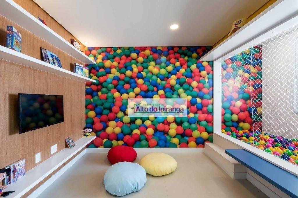 apartamento com 1 dormitório à venda, 37 m² por r$ 458.000,00 - chácara santo antônio - são paulo/sp - ap4359