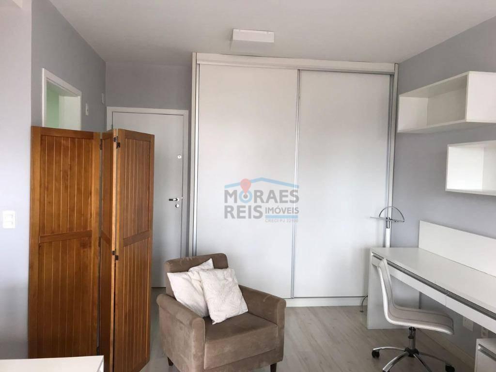apartamento com 1 dormitório à venda, 37 m² por r$ 520.000 - campo belo - são paulo/sp - ap14850