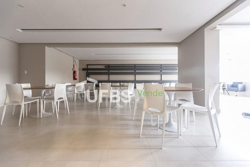 apartamento com 1 dormitório à venda, 38 m² por r$ 235.000 - setor bueno - goiânia/go - ap2526