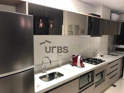 apartamento com 1 dormitório à venda, 39 m² por r$ 270.000 - setor bueno - goiânia/go - ap2612