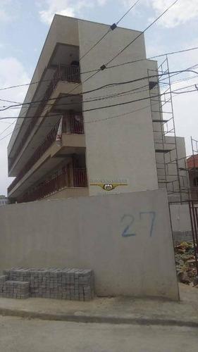 apartamento com 1 dormitório à venda, 40 m² por r$ 210.000,00 - vila formosa - são paulo/sp - ap1836