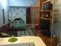 apartamento com 1 dormitório à venda, 40 m² por r$ 270.000,00 - santa paula - são caetano do sul/sp - ap2593