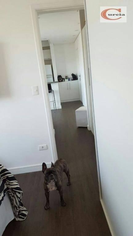 apartamento com 1 dormitório à venda, 40 m² por r$ 300.000,00 - vila das mercês - são paulo/sp - ap3735