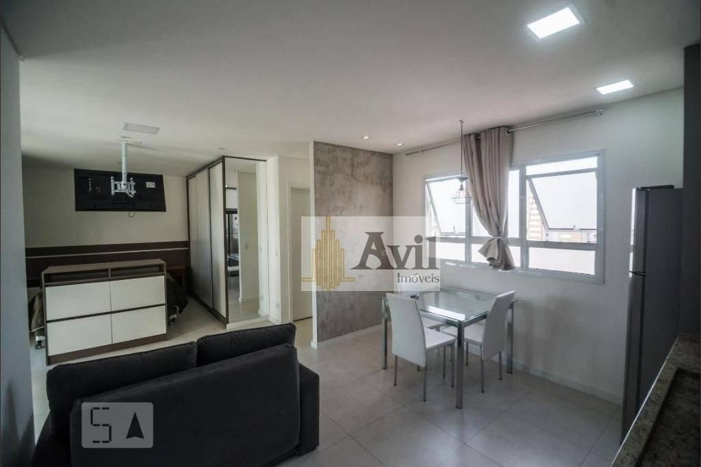 apartamento com 1 dormitório à venda, 40 m² por r$ 360.000 - jardim anália franco - são paulo/sp - ap0718