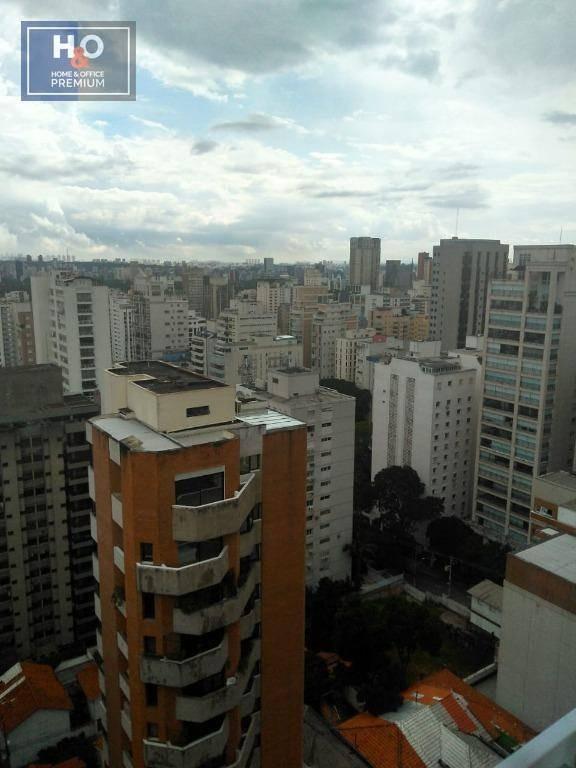 apartamento com 1 dormitório à venda, 40 m² por r$ 470.000 - jardim paulista - são paulo/sp - ap0560
