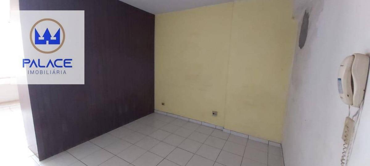 apartamento com 1 dormitório à venda, 41 m² por r$ 75.000,00 - centro - piracicaba/sp - ap0087