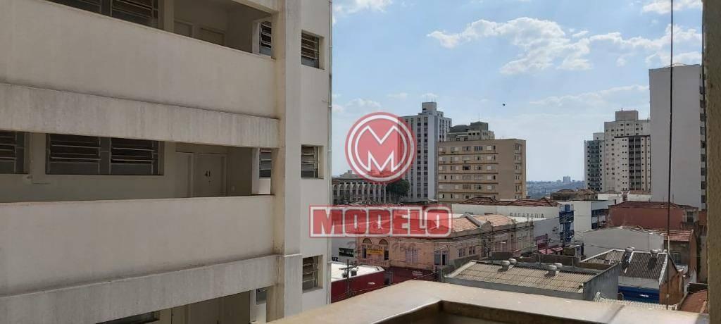 apartamento com 1 dormitório à venda, 41 m² por r$ 75.000,00 - centro - piracicaba/sp - ap2655