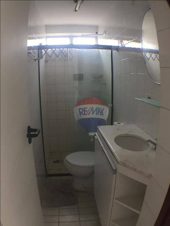 apartamento com 1 dormitório à venda, 42 m² por r$ 200.000,00 - graças - recife/pe - ap0046