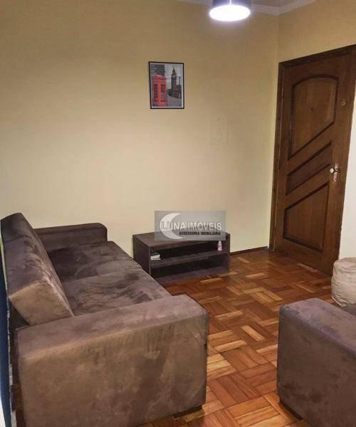 apartamento com 1 dormitório à venda, 43 m² por r$ 150.000,00 - assunção - são bernardo do campo/sp - ap2638