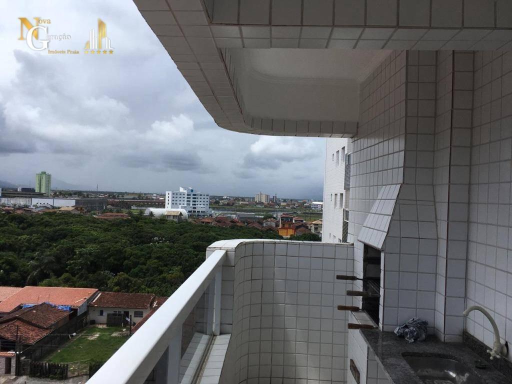 apartamento com 1 dormitório à venda, 45 m² por r$ 200.000,00 - maracanã - praia grande/sp - ap2634