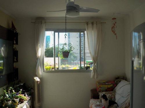 apartamento com 1 dormitório à venda, 45 m² por r$ 205.000 - nova campinas - campinas/sp - ap7660