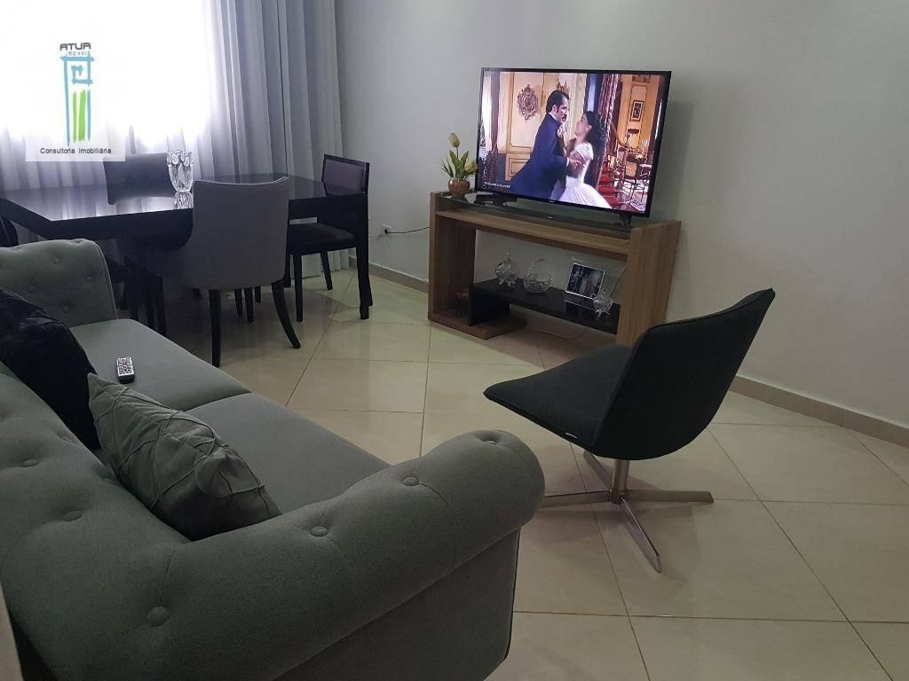 apartamento com 1 dormitório à venda, 45 m² por r$ 205.000,00 - macedo - guarulhos/sp - ap0818
