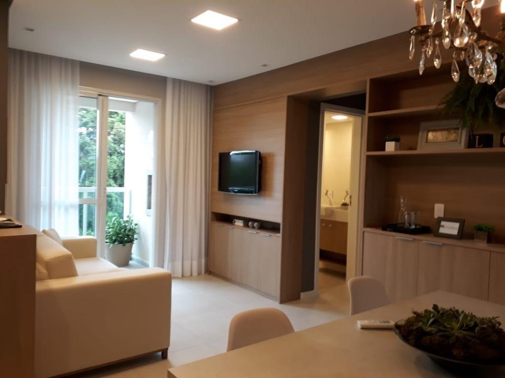 apartamento com 1 dormitório à venda, 45 m² por r$ 212.000,00 - centro - são josé/sc - ap3219