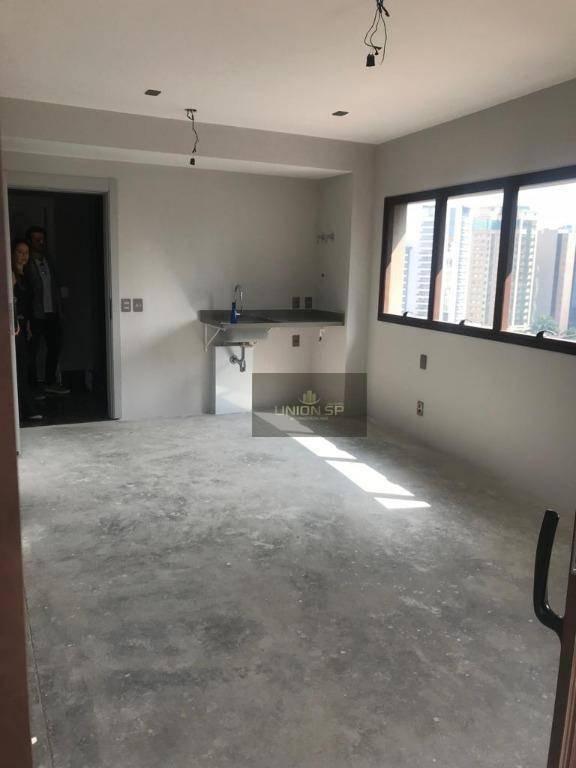 apartamento com 1 dormitório à venda, 46 m² por r$ 1.250.000,00 - vila olímpia - são paulo/sp - ap40916