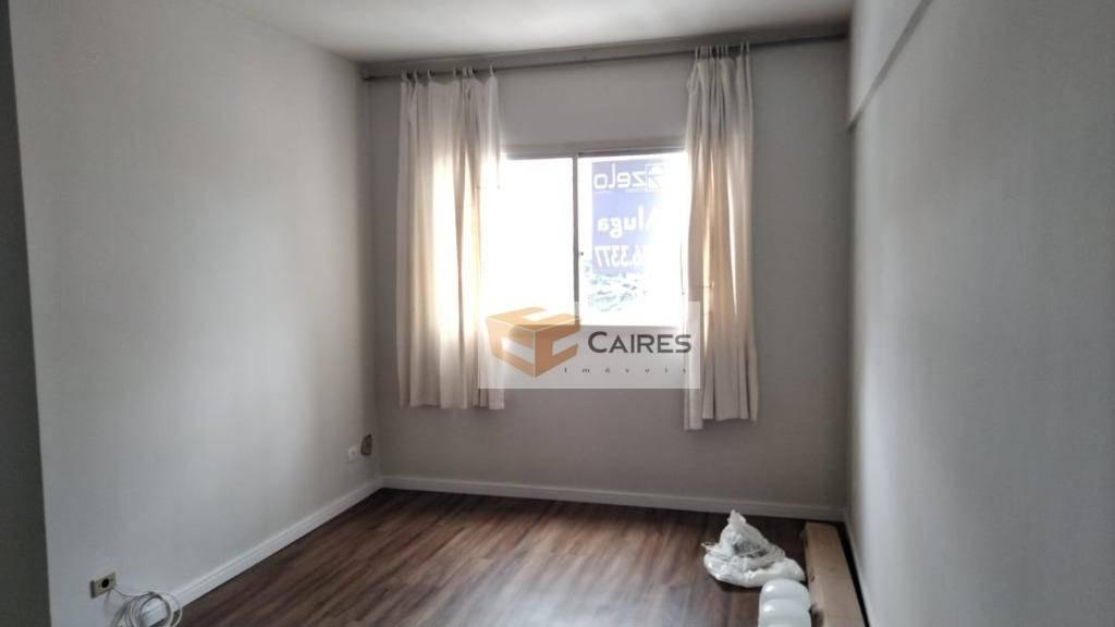 apartamento com 1 dormitório à venda, 46 m² por r$ 190.000 - centro - campinas/sp - ap7103