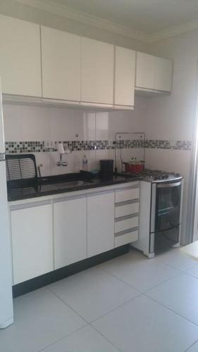 apartamento com 1 dormitório à venda, 46 m² por r$ 250.000 - vila guilherme - são paulo/sp - ap5898