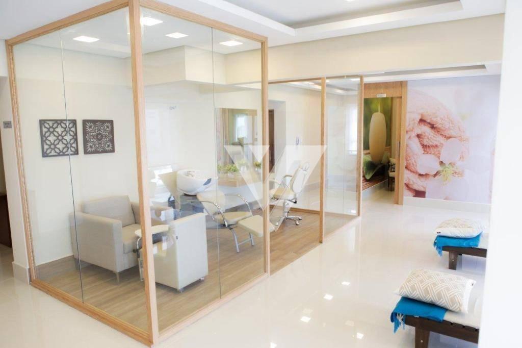apartamento com 1 dormitório à venda, 46 m² por r$ 410.000,00 - condomínio spettacolo patriani - sorocaba/sp - ap1484