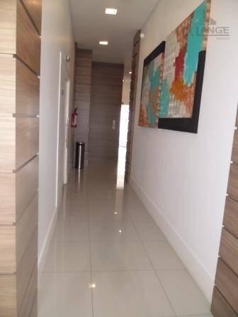 apartamento com 1 dormitório à venda, 47 m²  - cambuí - campinas/sp - ap15751