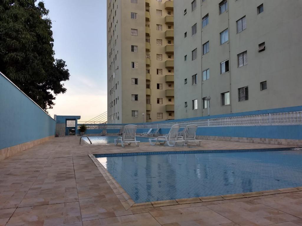 apartamento com 1 dormitório à venda, 48 m² - macedo - guarulhos/sp - ap5342