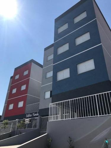 apartamento com 1 dormitório à venda, 48 m² por r$ 149.900 - caetetuba - atibaia/sp - ap0078