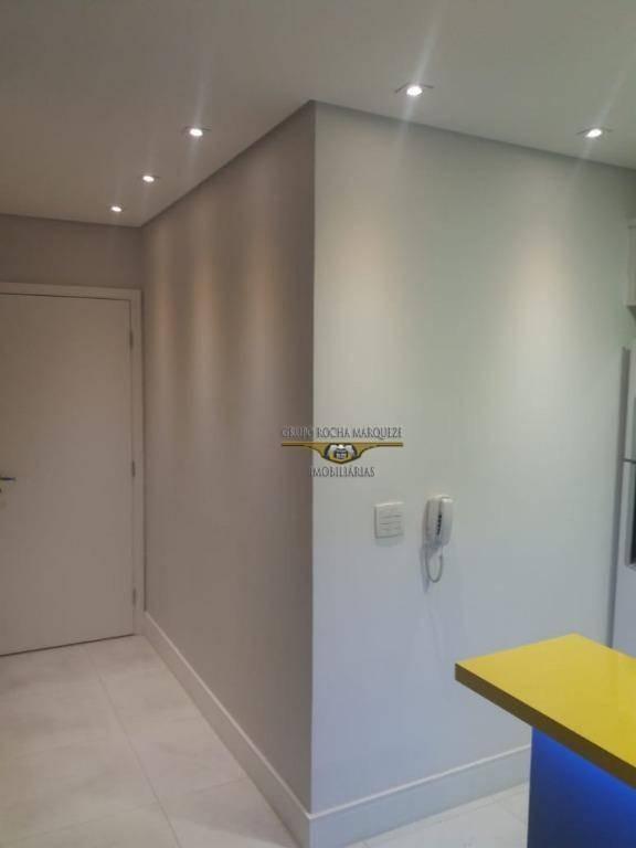 apartamento com 1 dormitório à venda, 48 m² por r$ 550.000,00 - tatuapé - são paulo/sp - ap2205
