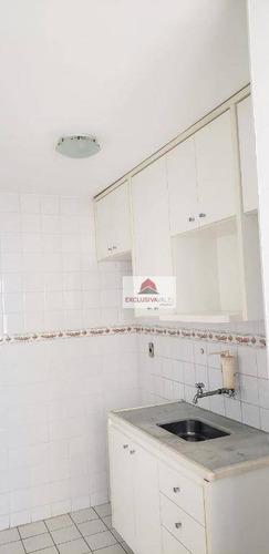 apartamento com 1 dormitório à venda, 49 m² por r$ 160.000,00 - jardim satélite - são josé dos campos/sp - ap2371