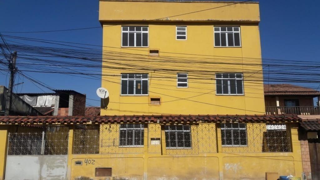 apartamento com 1 dormitório à venda, 50 m² por r$ 110.000 - jardim catarina - são gonçalo/rj - ap5467