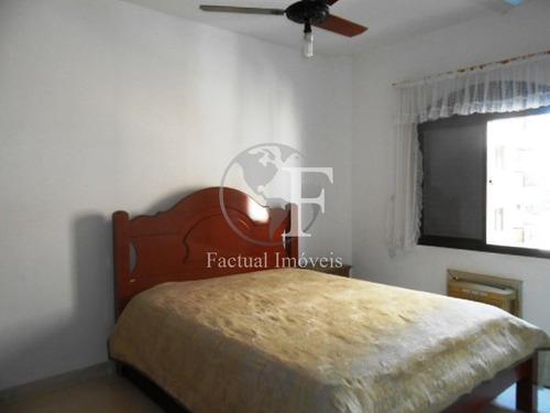 apartamento com 1 dormitório à venda, 50 m² por r$ 200.000,00 - praia da enseada - fórum - guarujá/sp - ap10198