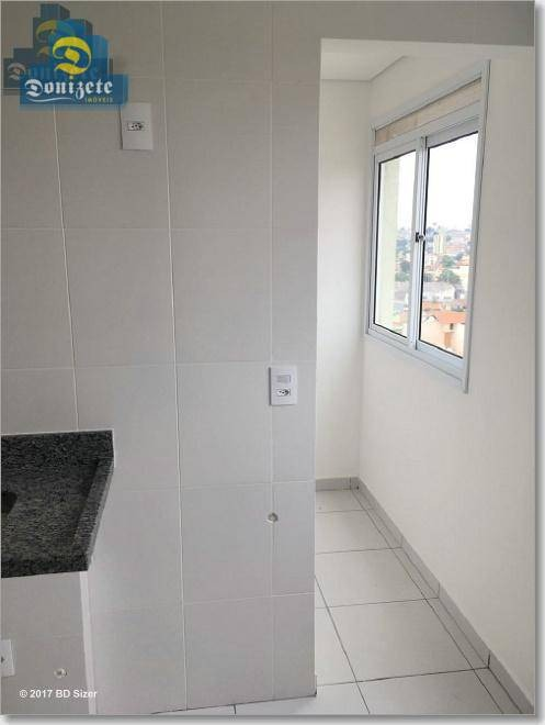 apartamento com 1 dormitório à venda, 50 m² por r$ 219.800,00 - vila alto de santo andré - santo andré/sp - ap5115