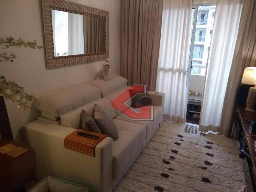 apartamento com 1 dormitório à venda, 50 m² por r$ 223.500,00 - vila gonçalves - são bernardo do campo/sp - ap2952