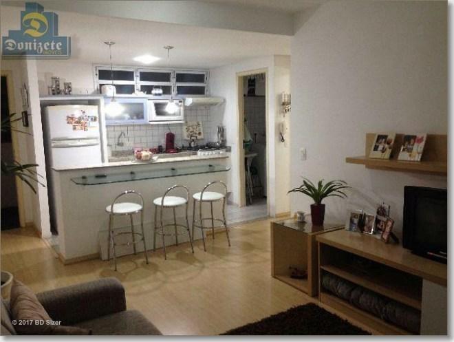 apartamento com 1 dormitório à venda, 50 m² por r$ 291.000,10 - vila assunção - santo andré/sp - ap5515