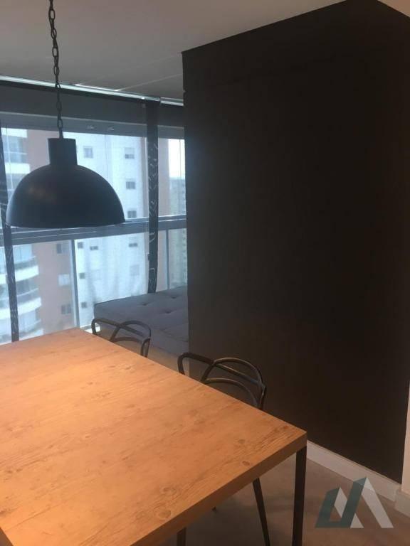 apartamento com 1 dormitório à venda, 50 m² por r$ 410.000,00 - parque campolim - sorocaba/sp - ap2166