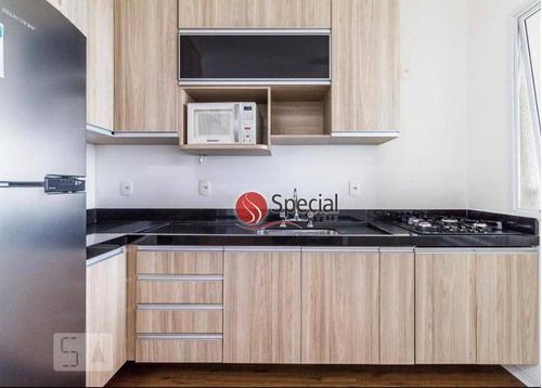 apartamento com 1 dormitório à venda, 50 m²  - tatuapé - são paulo/sp - ap12759
