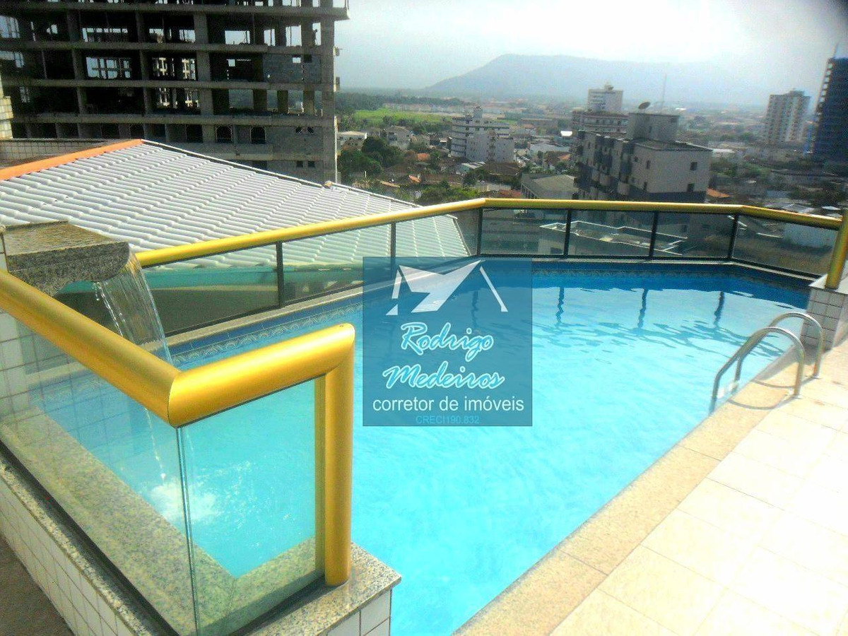 apartamento com 1 dormitório à venda, 51 m² por r$ 195.000,00 - caiçara - praia grande/sp - ap0441