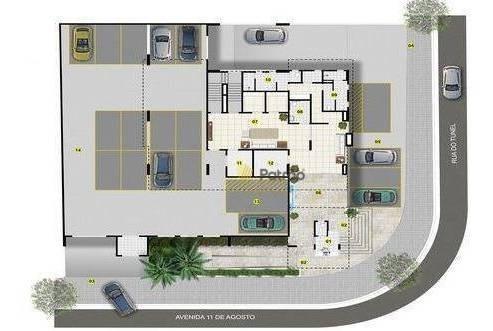 apartamento com 1 dormitório à venda, 52 m² por r$ 365.820 - jardim hollywood - são bernardo do campo/sp - ap2387