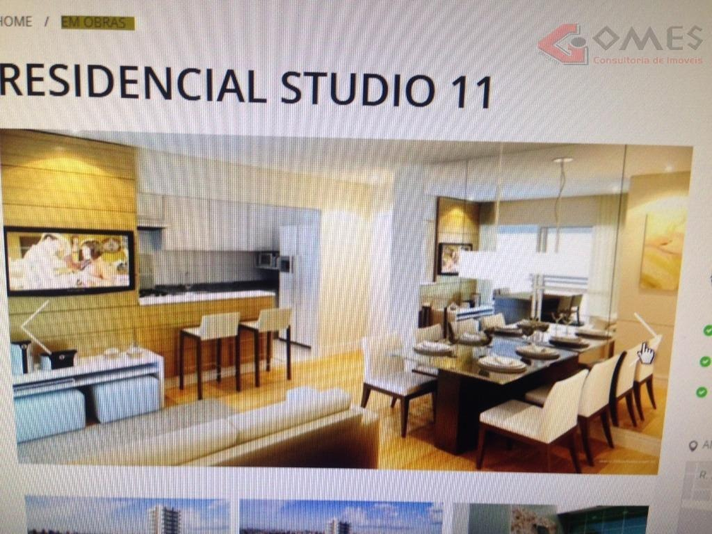 apartamento com 1 dormitório à venda, 52 m² por r$ 365.820,00 - jardim hollywood - são bernardo do campo/sp - ap2053