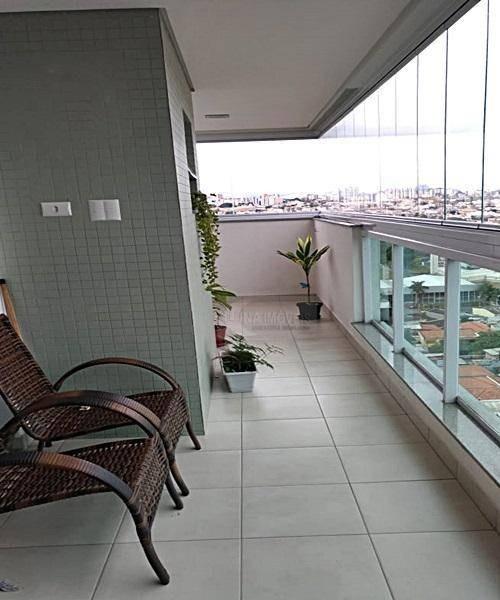 apartamento com 1 dormitório à venda, 52 m² por r$ 390.000 - jardim hollywood - são bernardo do campo/sp - ap2299