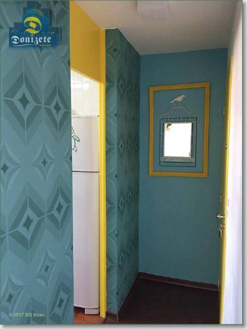 apartamento com 1 dormitório à venda, 53 m² por r$ 195.000,00 - vila valparaíso - santo andré/sp - ap7107