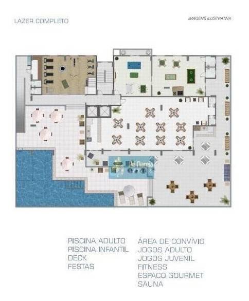 apartamento com 1 dormitório à venda, 53 m² por r$ 53.620 - r1f933a -anto do forte - praia grande/sp - ap0373